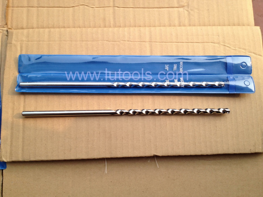 Masonry Drill Bit High Helix Chrome Plated
