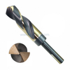 HSS Silver & Deming 1/2 Inch 3 Flats Reduced Shank Twist Drill Bit