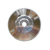 Electroplated Continuous Rim Diamond Blade with 4protectional Segment And Flange
