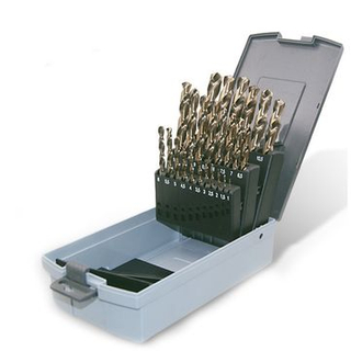 25PCS TWIST DRILL SET
