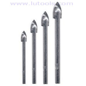 Glass Drill Bit Zinc Coated (GD-001)