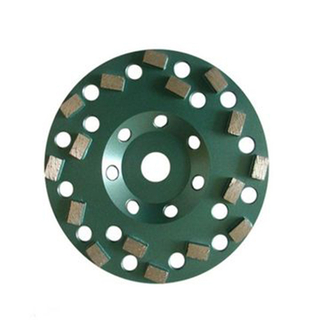 DOT Type Diamond Grinding Cup Wheel for Stone